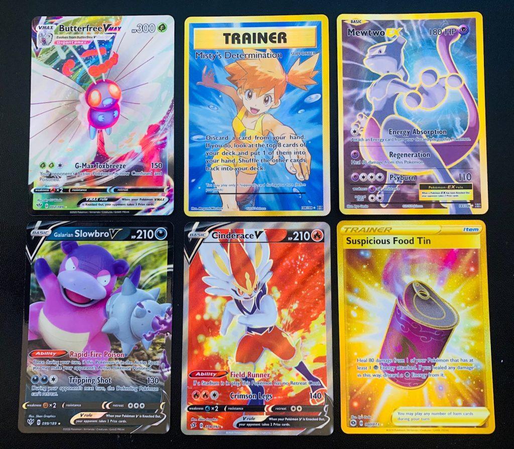 modern full art pokemon cards