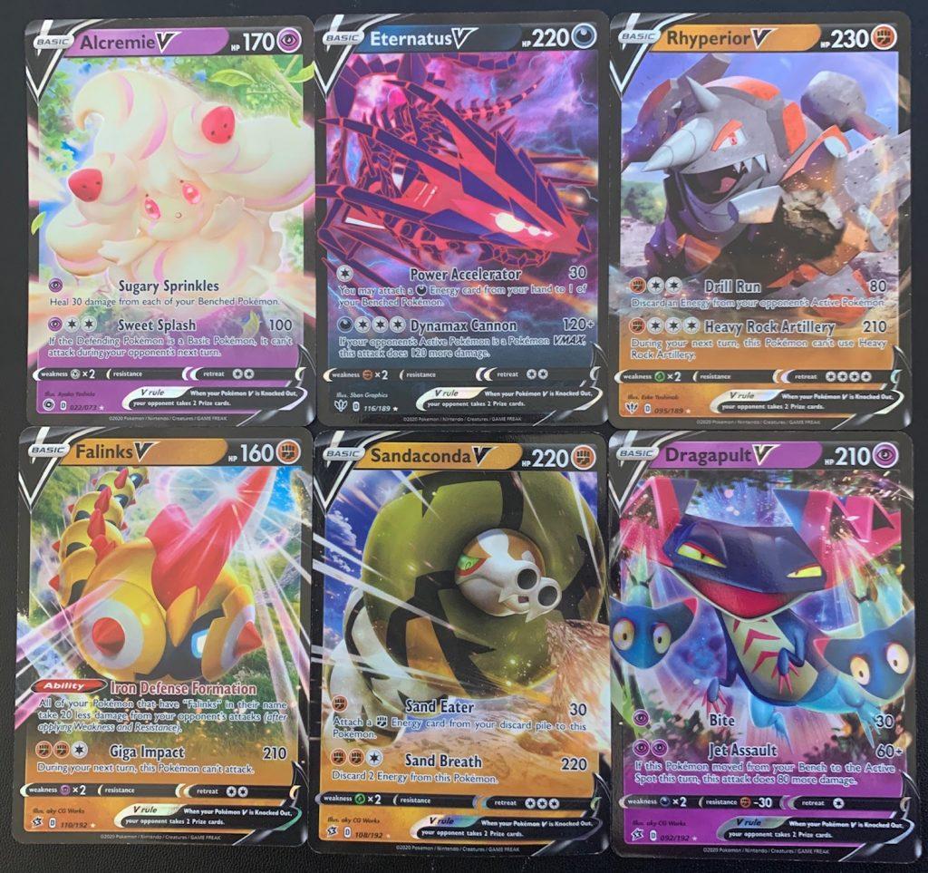 modern pokemon full art cards
