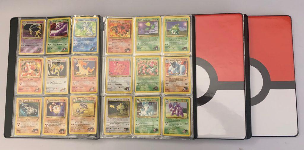 pokemon binder sets