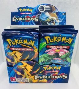 2016 XY Evolutions Booster Box