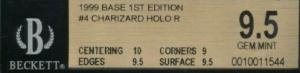 beckett grading scale subgrades